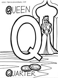 images of the letter q alphabet q coloring page letters of the