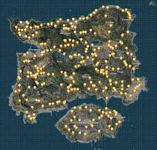 pubg map loot pubg map playerunknown s battlegrounds