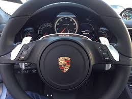 techart porsche panamera techart paddle shifters retrofit
