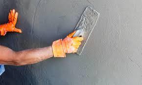 béton ciré sur carrelage cuisine faire un béton ciré sur du carrelage sol et mural