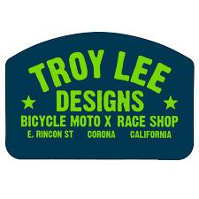 troy designs shop troy designs sticker race shop blue green 6 5 inches