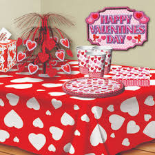 Valentine S Day Table Decorations Ideas by Valentine U0027s Day Table U0026 Room Decorations Partycheap