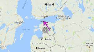 Baltic Sea Map January 25 The Baltic Qra Were Launched To Conduct Their First