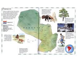South America Climate Map by Maps Of Paraguay Detailed Map Of Paraguay In English Tourist