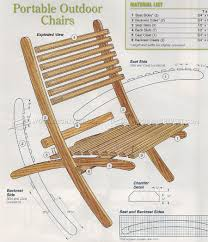 Outdoor Furniture Plans by Outdoor Folding Chair Plans U2022 Woodarchivist