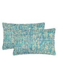 Safavieh Pillows Carrie Silk Pillows Set Of 2 Fashion Home