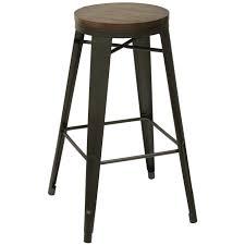 bar stools upholstered counter height bench metal bar stools