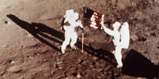 Is The American Flag Still Standing On The Moon Footprints On The Moon