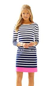 irina shift dress color bright navy ocean boulevard engineered