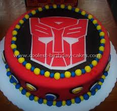 transformer cake transformer cake