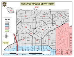 map of inglewood california beat 1 inglewood ca