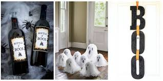 home made halloween decorations 40 easy diy halloween decorations homemade do it yourself