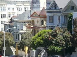 Victorian House San Francisco by Free Images Tree Architecture Mansion Town Building City