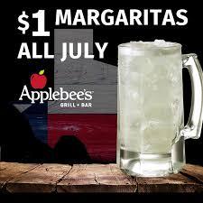 applebee s in offer margaritas for a buck dollaritas