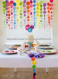 Hanging Party Decorations New Girls Princess Room Decorating Kit Polka Dot Birthday Party
