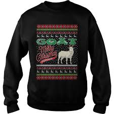 goat ugly christmas sweater