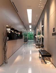 the glass pavilion features a luxury design