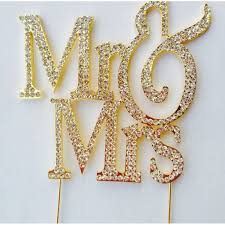 and chain cake topper buy cake toppers mr and mrs gold wedding cake toppers