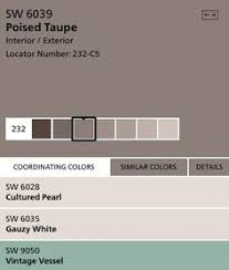 sherwin williams poised taupe color of the year 2017 color of