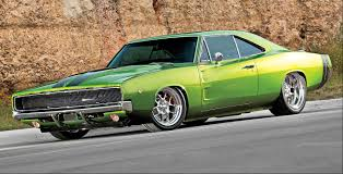 1968 dodge charger green 1968 dodge charger slammed is this the coolest charger