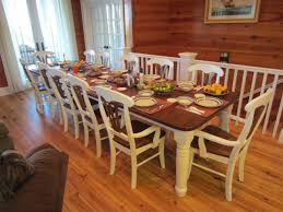 dining room table sets seats 10 amusing design dining room rustic