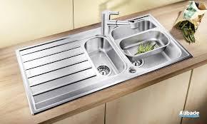 meuble de cuisine avec evier inox beautiful meuble salle de bain aubade 19 201vier de cuisine
