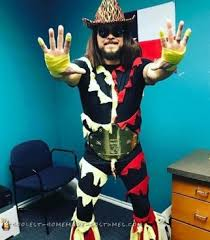 Goldust Halloween Costume 65 Coolest Homemade Wrestling Costumes Halloween