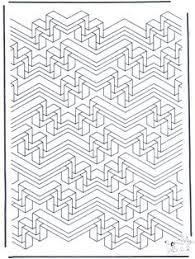op art coloring pages coloring page tiled from geometrycoloringpages com