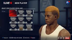 nba live 16 player customization weight and height restrictions