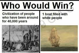 Boat People Meme - no one has ever beaten white people meme by anarcy memedroid