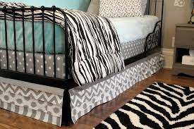 easy diy layered bed skirt the creek line house