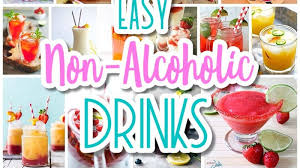 Cocktail Recipes For Party - the best easy non alcoholic drinks recipes u2013 creative mocktails