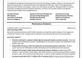 Business Objects Sample Resume by Information Management Officer Sample Resume Download Business
