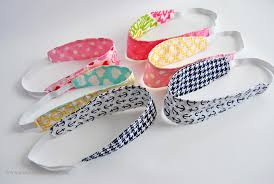 fabric headbands reversible fabric headbands easy sew tutorial sparkles of
