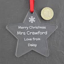 personalised metal christmas tree decorations nifty b430eca9db
