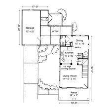 country style house plan 2 beds 1 5 baths 985 sq ft plan 410 floor plan main floor plan