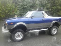 1987 subaru brat 1981 subaru brat on 84 bronco drivetrain for sale in whistler bc