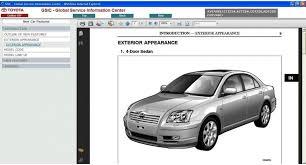 avensis t25 2003 2008 service u0026 repair information manual