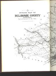 Delaware County Map Delaware County Pennsylvania Maps