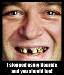 David At The Dentist Meme - fluoride still not poisoning your precious bodily fluids