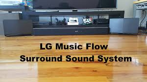 best home theater with wireless rear speakers lg music flow surround sound system review best wireless home