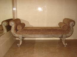 Wooden Couch Designs Classical Brown Velvet Sofa Bed With Hand Carved Wooden Frame With