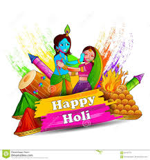 india festival of color happy holi background stock vector image