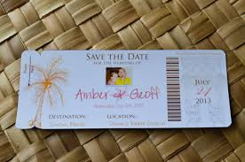 Boarding Pass Save The Date Engagement Photo Magnet Boarding Pass Save The Date