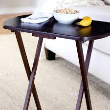 target tv snack tables table snack ikea modest slide under sofa table home design ideas