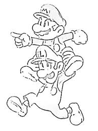 8 bit coloring pages mario characters drawings hd game price