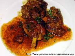 cuisine antou cari de canard par christian antou goutanou cuisine de l île de