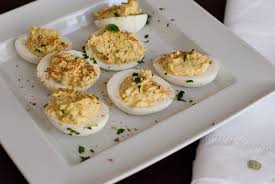 deviled eggs platter back to organic mexican deviled eggs