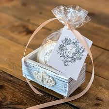 wedding favor box shabby chic wedding favor boxes the knot shop