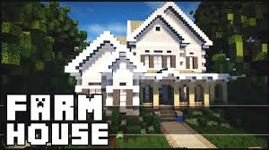 big farm house minecraft beautiful farm house